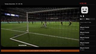 Livestream de Fifa 18 demo falta mt pouco para o PES 2018 sair!!!