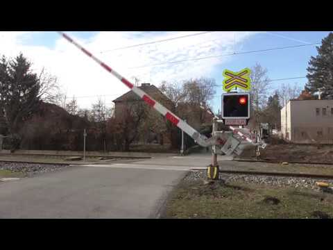 Železniční Přejezd | AŽD 97 | Černošice-Mokropsy #1 - 23.2.2019