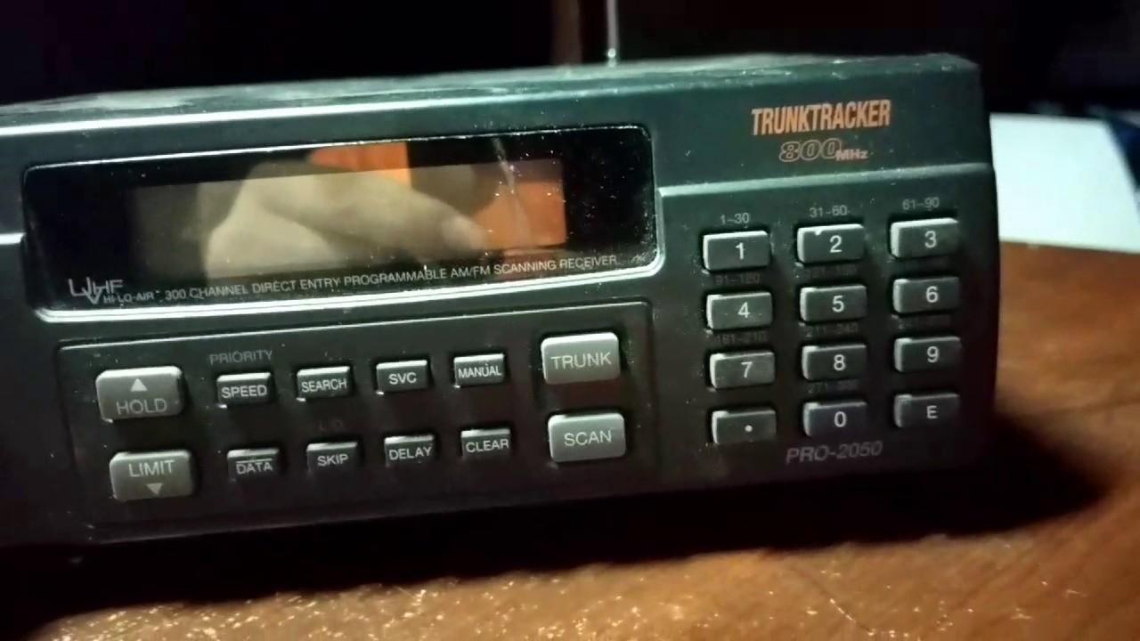 radioshack pro 2050 scanner youtube rh youtube com
