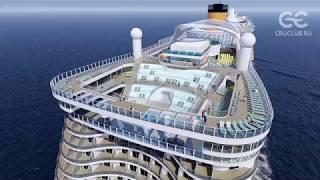 Обзор лайнера Costa Smeralda 5* от CruClub.ru