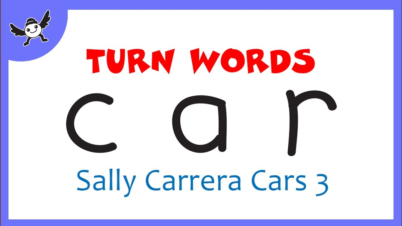 Sally Carrera | How To Turn Words CAR into Cartoon Sally ...