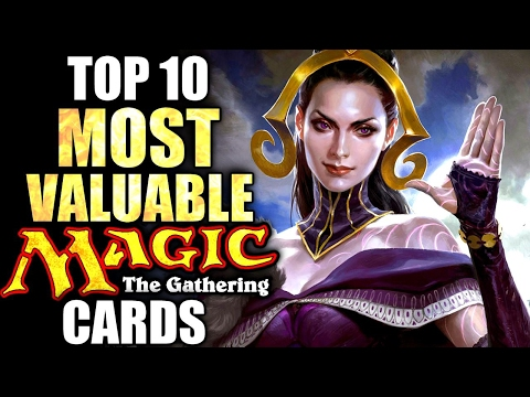 Top 10 Most Valuable Magic the Gathering Cards