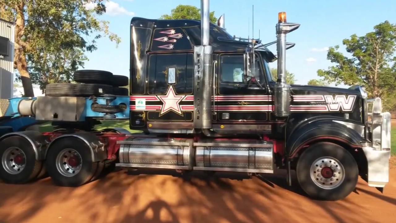 Road train Road Trip Australia collection 2017 Heavy load ...