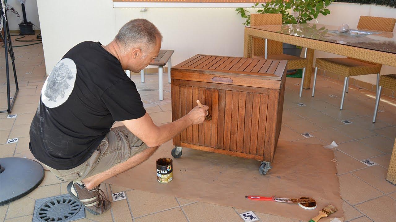 C mo proteger la madera del mobiliario de jard n y for Mobiliario de jardin de madera