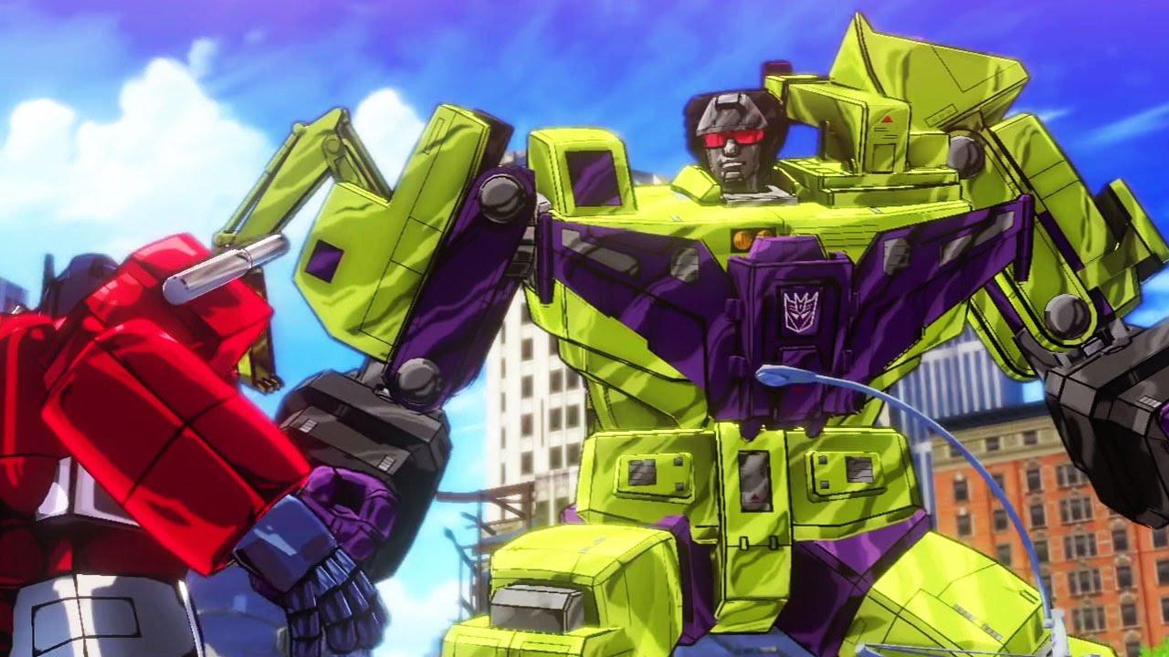 Fall Of Cybertron Wallpaper Transformers Devastation Gameplay Fr Youtube