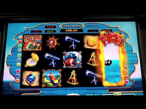 WMS - Pirate Battle Bonus Slot - Harrah's Resort - Atlantic City, NJ