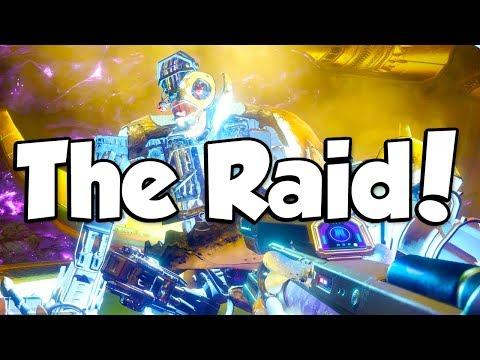THE RAID! (Destiny 2 Leviathan Raid)