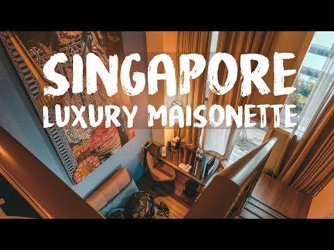 Luxury Maisonette 🌏 Singapore Vlog 1