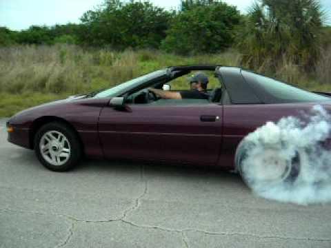 1995 Camaro Burnout Youtube