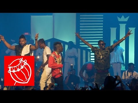 Shatta Wale and the Millitants performed 'Forgeti' without Pope Skinny   Ghana Music