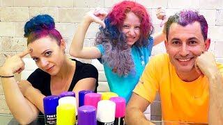 🖍 3 ЦВЕТА ВОЛОС ЧЕЛЛЕНДЖ   Новый 3 Маркера Челлендж   3 Hair Color Challenge
