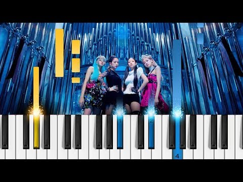 BLACKPINK - 'Kill This Love' - Piano Tutorial / Piano Cover