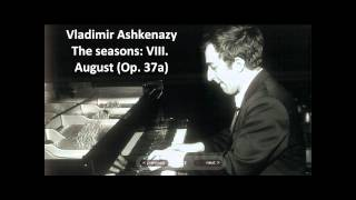 "Vladimir Ashkenazy: The complete ""The seasons Op. 37a"" (Tchaikovsky)"