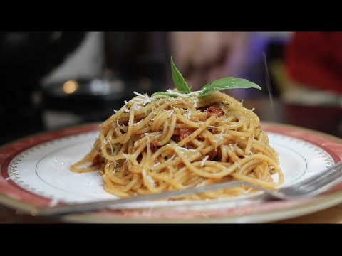 Spaghetti Pomodoro | Italian Pasta Recipe | Quick & Easy Recipes | New Recipes | Chef Saransh