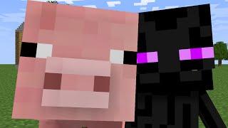 Monster School: Pig Riding - Part 1 (Minecraft Animation)