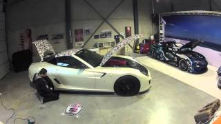 gumball 2012 part 2 wrapping the ferrari 599 gto