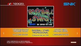 ACA NEOGEO Baseball Stars Professional (Switch) First Look on Nintendo Switch - Gameplay