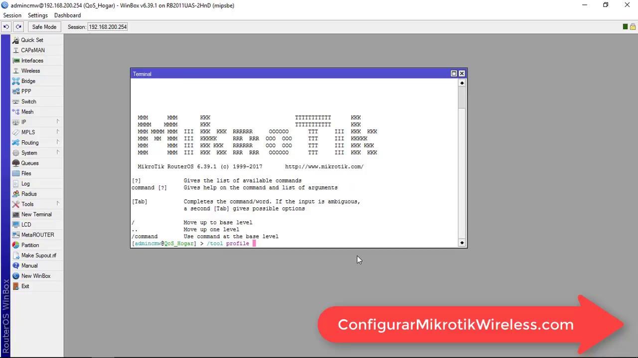 Aprende Como Detectar El Trafico CPU En Tu Servidor MikroTik