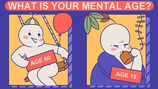 What Is Your Mental Age? (Personality Test)