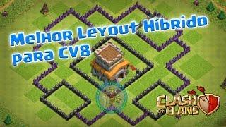 √Melhor Layout Híbrido para CV8/Best Hybrid Layout for TH8 [2016]