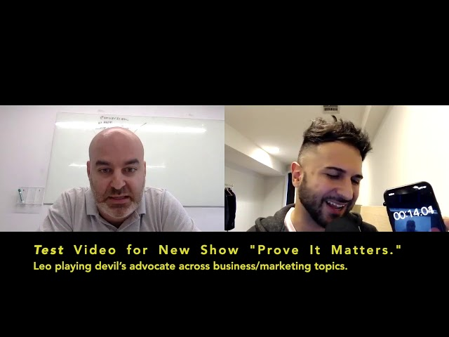 Owning Your Own Social Media?! - Prove It Matters (Ft. Jay Mandel) (Hosted by Leo Morejon)