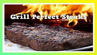Longhorn Steakhouse Recipe - Perfect Steak - On A Gas Grill BBQ