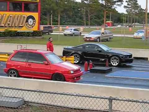 2008 Saleen S281 Vs Ford Festiva Turbo