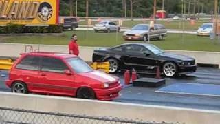 2008 Saleen S281 vs. Ford Festiva Turbo