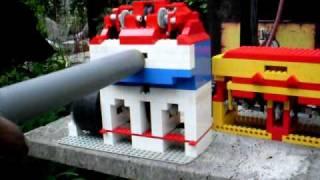 lego vacuum engine 4 and 2 cylinder ohc