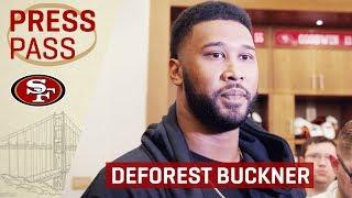 DeForest Buckner Achieves Sack Goal for 2018 | San Francisco 49ers