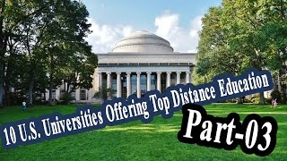 10 U S  Universities Offering Top Distance Education Part 03