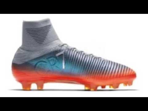 e4bc7d98535c5 Nuevas botas de cristiano Ronaldo unboxing 2017 - YouTube