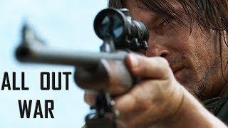 The Walking Dead Season 8 Trailer || All Out War [ MYO Round 1 ]