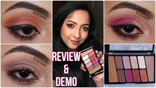 WET n WILD ROSE IN THE AIR Eyeshadow Palette   REVIEW, SWATCHES & 3 EYE LOOKS   Stacey Castanha