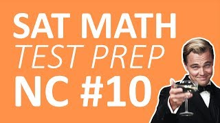 Perfect SAT Math Score #10 - Practice Test 1: Non Calculator - Functions