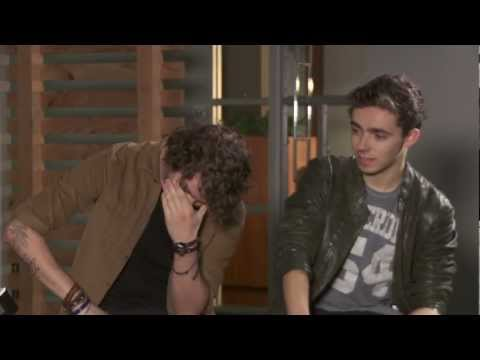 Manchilds Interview The Wanted | Jono and Ben at Ten