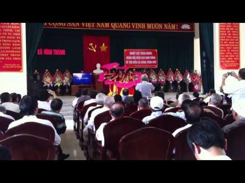 Múa cây trúc xinh -- UBND xã Vĩnh Thành, Vĩnh Lộc, Thanh Hóa