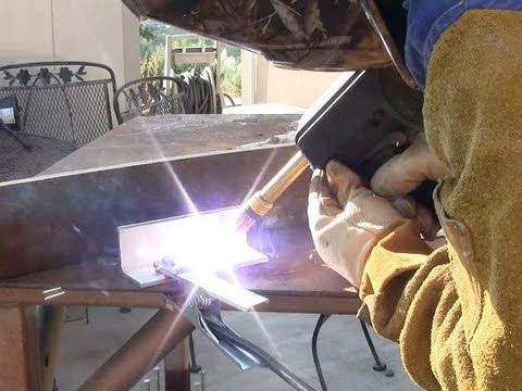 using a spool gun for the first time to weld aluminum learning to weld  YouTube