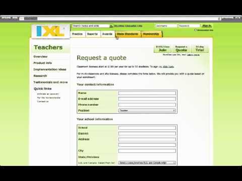 IXL Math Review