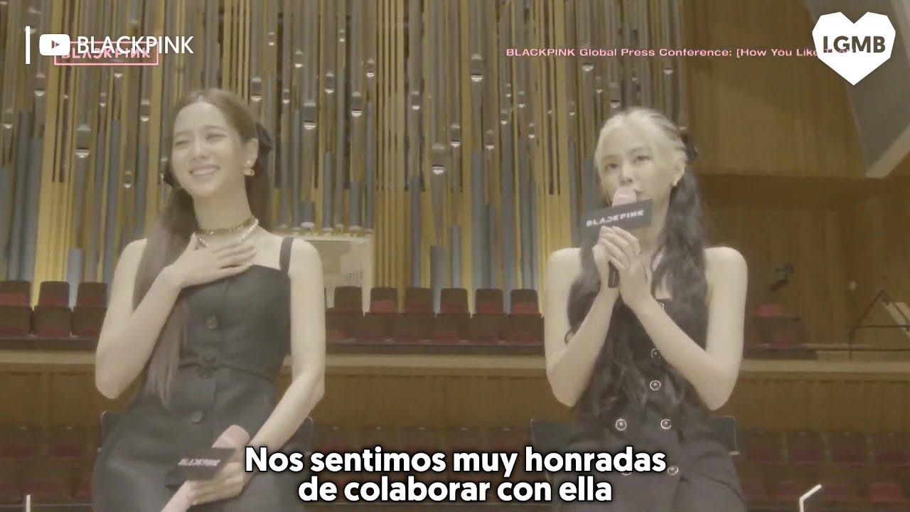 """BLACKPINK habla de su colaboración con Lady Gaga, """"Sour Candy"""""""