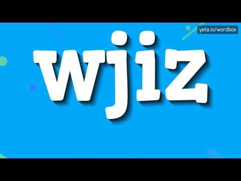 WJIZ - HOW TO PRONOUNCE IT!?