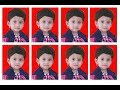Adobe Photoshop    tutorial how to create passport size photo on adobe Photoshop