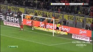 боруссия Бавария 0 3 Чемпионат Германии, Обзор матча HD