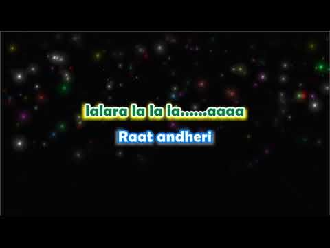 Tera Woh Pyar - Karaoke with Lyrics