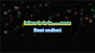 Tera Woh Pyar - Karaoke with Lyrics