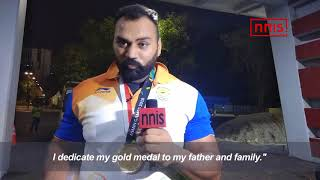 Tejinderpal Singh Toor Dedicates His Gold Medal To His Cancer Stricken Father