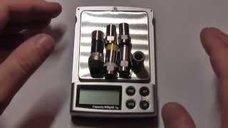 Обзор F-коннекторов  RG6 кабеля с помощью весов
