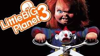 WRATH OF CHUCKY! | Little Big Planet 3 Multiplayer (84)