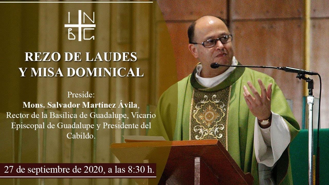 Rezo de Laudes y Misa Coral del Cabildo, 27 de septiembre de 2020, 8:30 h.