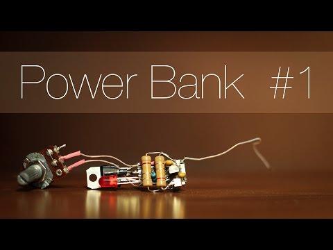 Cмотреть онлайн Powerbank или портативная зарядка для телефона своими руками. Часть первая.